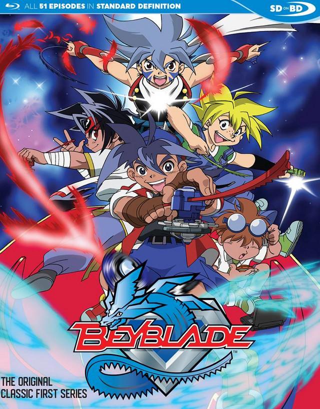 Crunchyroll - Discotek Media Announces Beyblade Anime