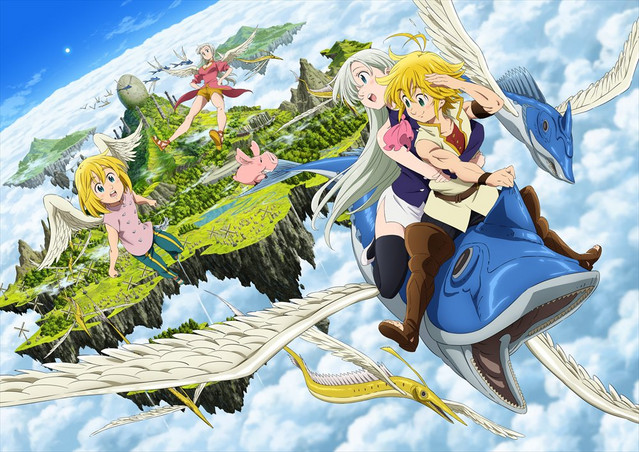 A New Trailer Is Now Available Online For The Seven Deadly Sins Movie Prisoners Of Sky An Upcoming Theatrical Film Based On Fantasy Adventure