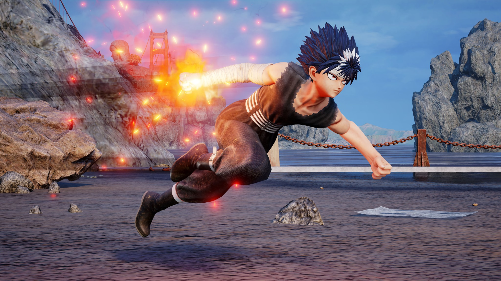 Hiei in Jump Force