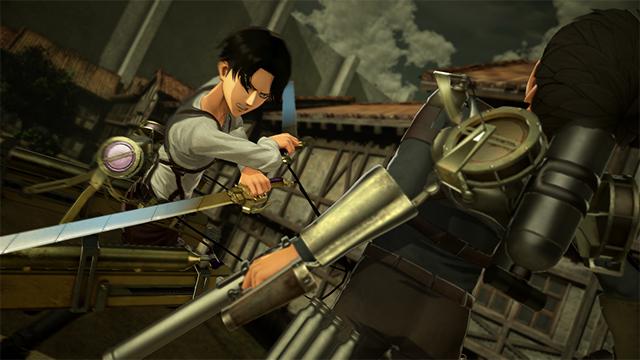 Crunchyroll - Attack on Titan 2: Final Battle Lets You SHOOT TITANS