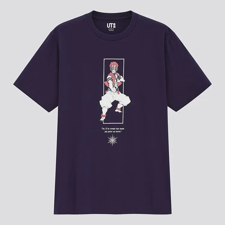 Demon Slayer UT Uniqlo Camisetas