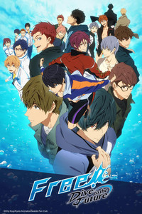 Free! -Dive to the Future- is a featured show.