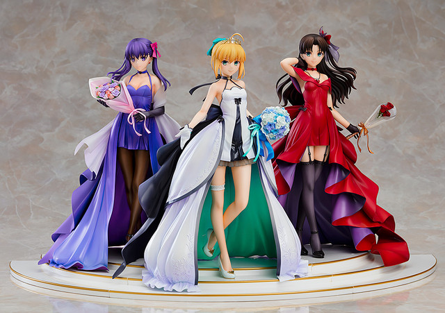 15th Anniversary Fate/Stay night figures