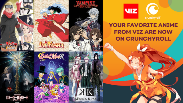 Crunchyroll x VIZ Media