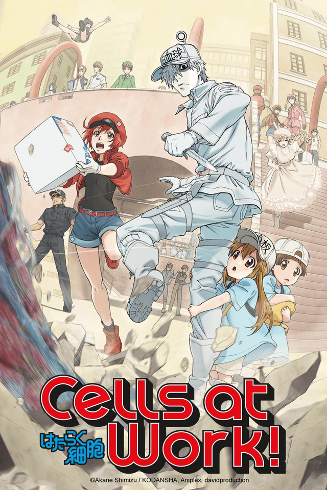 Image result for cells at work