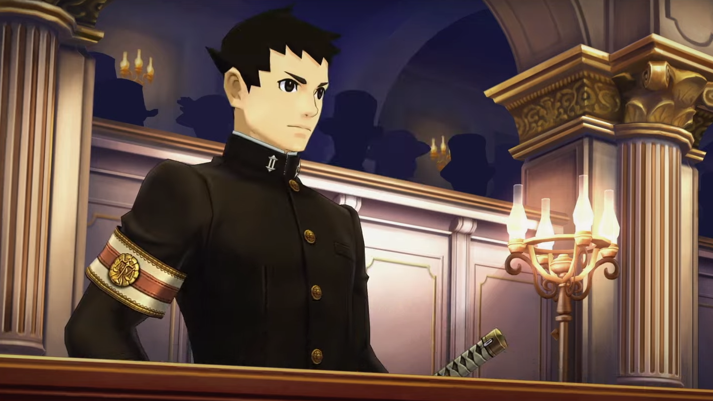 Ryunosuke Naruhodo in The Great Ace Attorney Chronicles