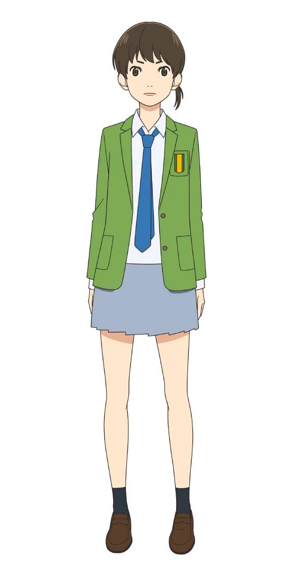 A character setting of Saori Komurasaki, a member of the high school soccer club from the upcoming Farewell, My Dear Cramer TV anime.