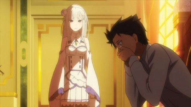 emilia and subaru in re zero