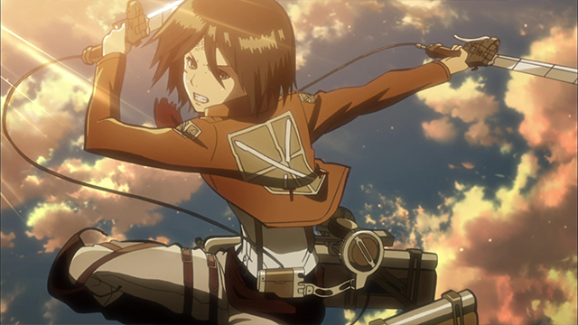 Mikasa Ackermann Attack on Titan