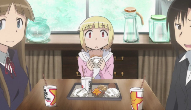 Carl's Jr. in Anime - Alice to Zoroku Episode 3
