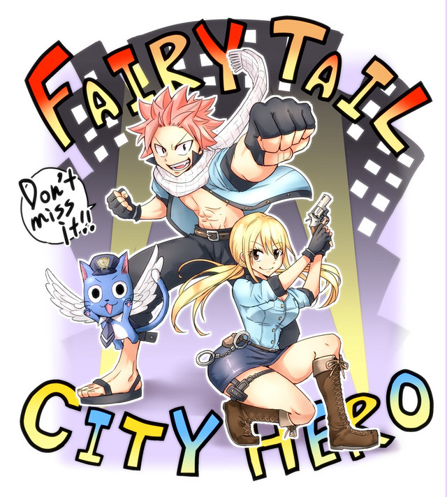 Crunchyroll Fairy Tail City Hero Spinoff Manga Revealed
