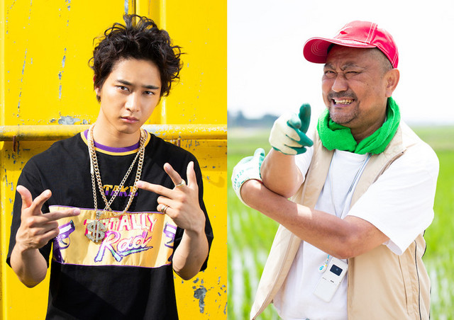 Kanta Sato and Brother Tom star in the Rapper ni Kamaretara Rapper ni Naru TV drama.