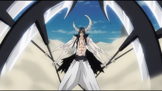 Bleach, Kenpachi vs. Nnoitora