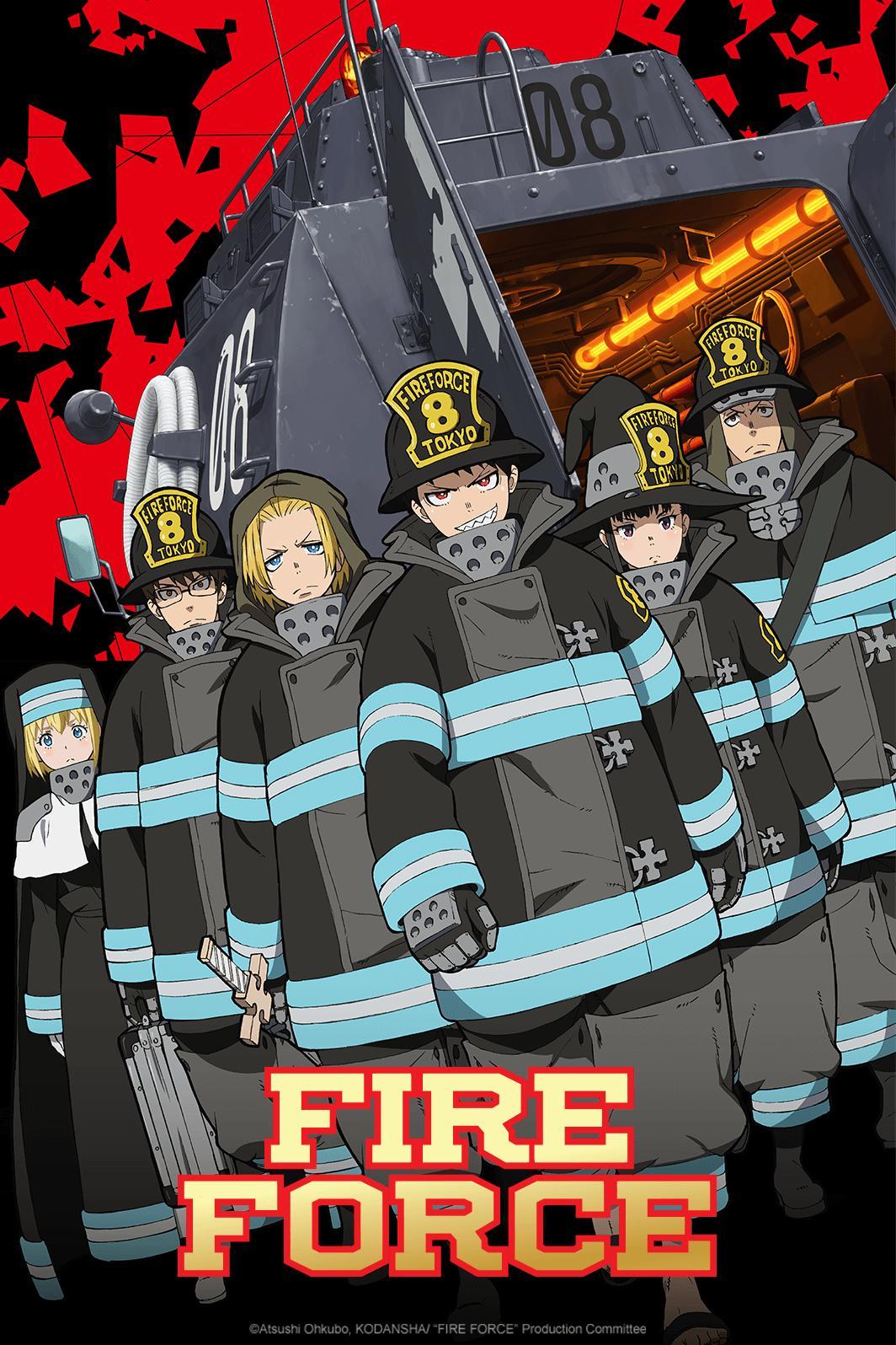 Resultado de imagem para fire force