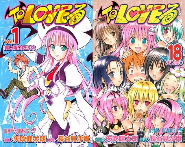Manga To Love-Ru Kembali Luncurkan One-Shot Baru