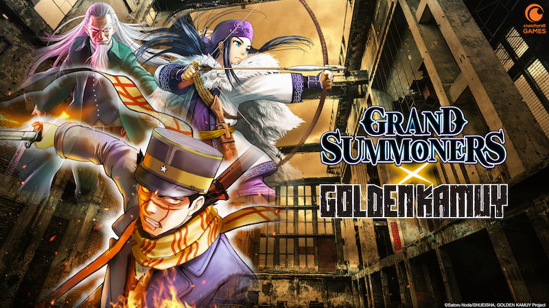 Golden Kamuy x Grand Summoners