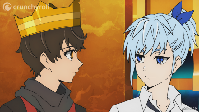 Khun and Bam from Tower of God