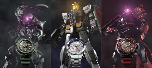 Rayakan Ulang Tahun ke-40 Gundam, Seiko Hadirkan Jam Tangan Edisi Terbatas