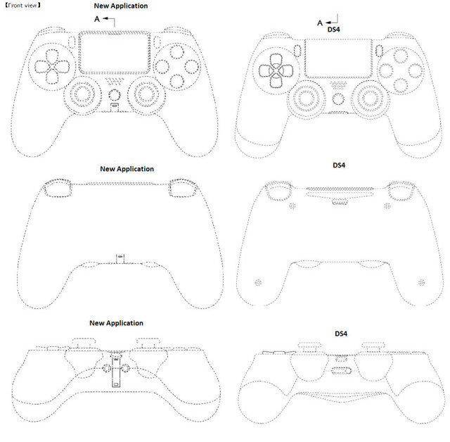 Dualshock 4 and 5 comparison