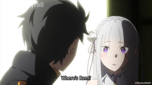 subaru emilia rem rezero