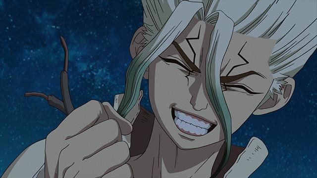 Victorious Senku!