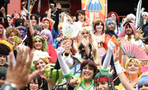 Cosplayers from all around the world gather for the World Cosplay Summit in Nagoya.