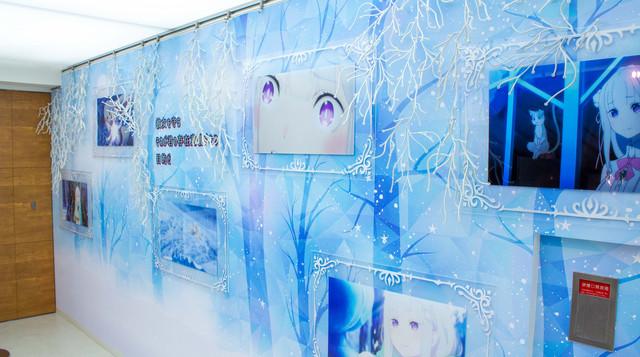 Re:Zero: The Frozen Bond Collaboration Cafe Emilia Images