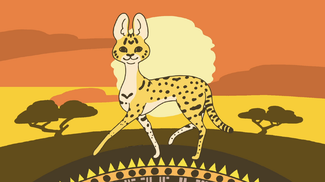Is the life of a serval cat really as 'sugoi' and 'tanoshii' as everyone assumes?