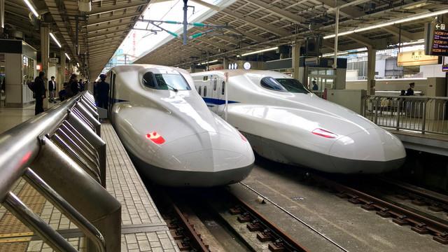 Shinkansen at Tokyo Station