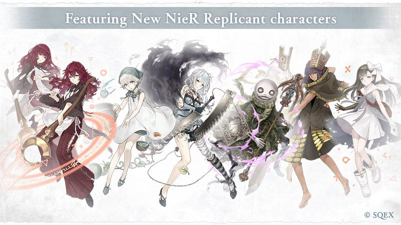 New Nier Replicant Characters