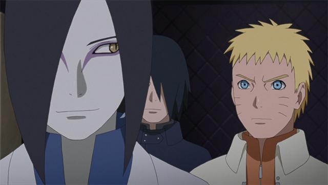 Orochimaru & Naruto