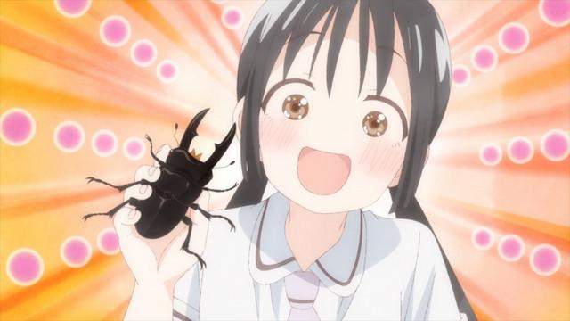 Hanako trains her pet Hercules beetle, Fantômas, how to be a phantom thief.