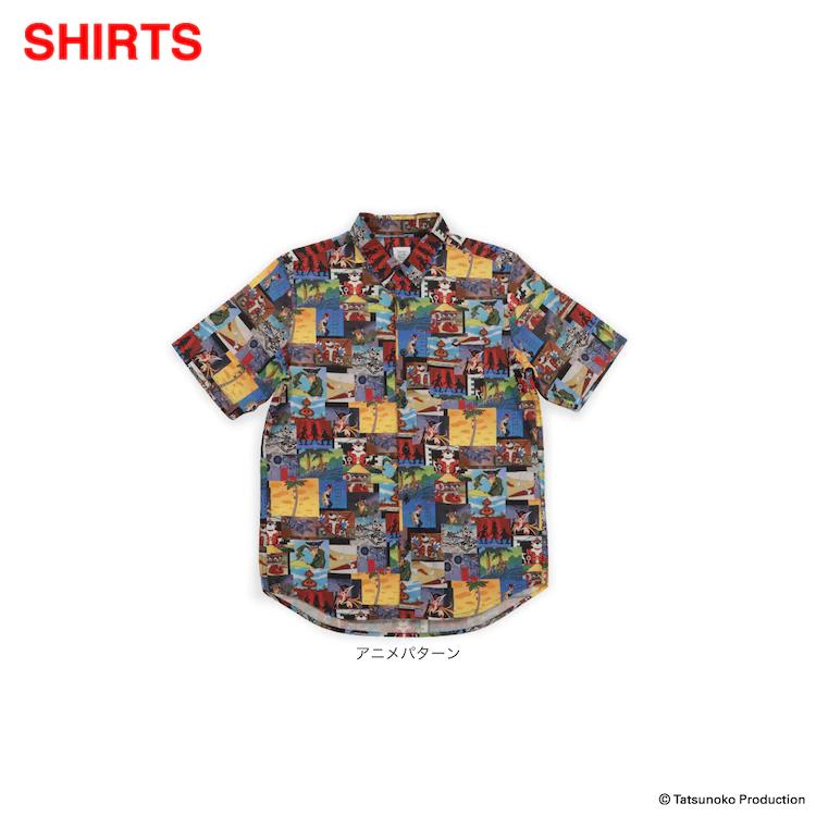 Yatterman button-down shirt