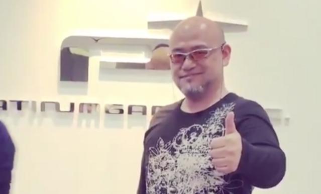 Hideki Kamiya being boss