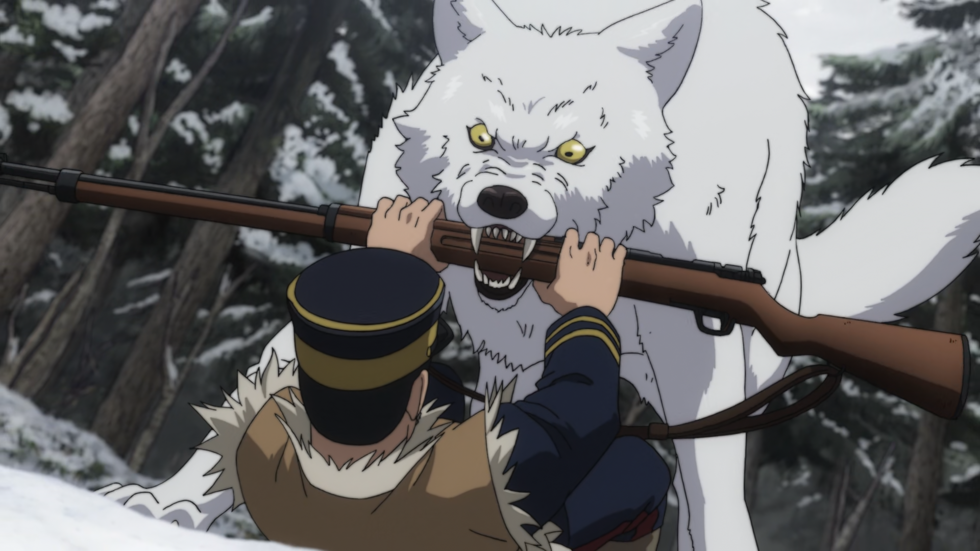 Ezo wolf, Golden Kamuy
