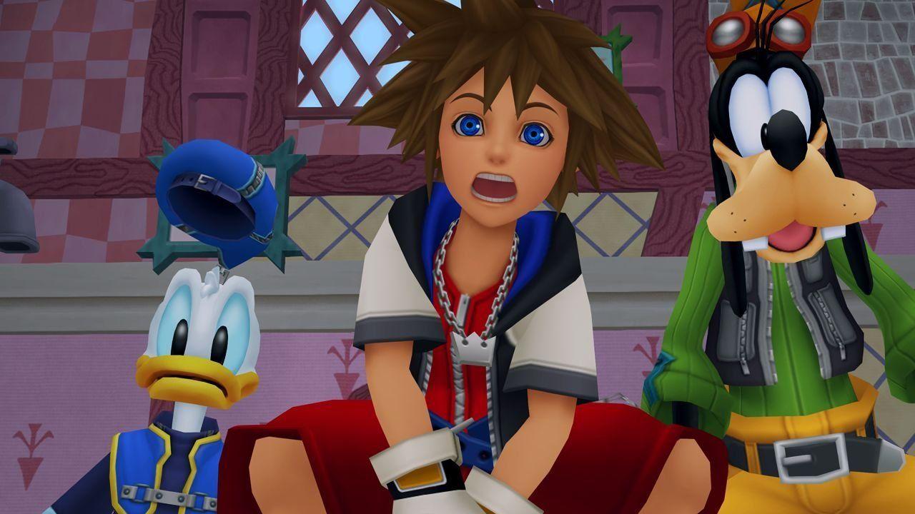 Kingdom Hearts en la tienda de Epic Games