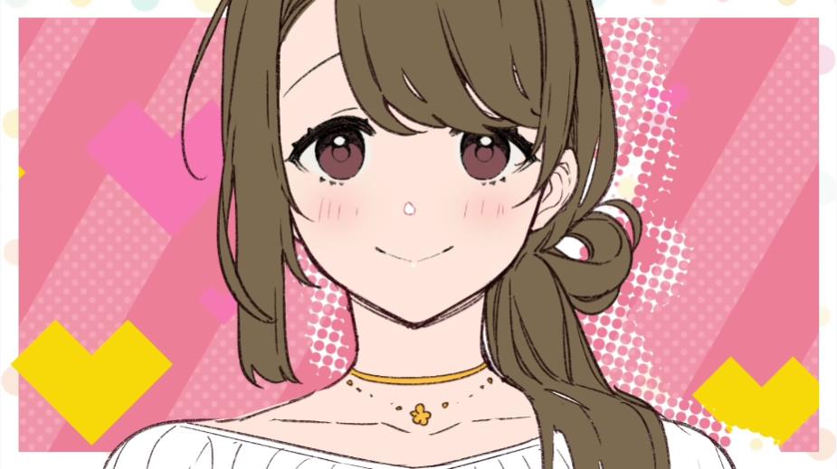¿Una imagen de Ayako Katsuragi, una ama de casa de 30 y tantos y madre adoptiva, el principal interés amoroso en el Musume Janakute Mama ga Sukinano?  serie de novelas ligeras, escrita por Kota Nozomi e ilustrada por Giuniu.