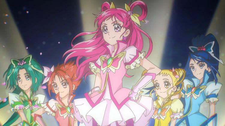 ¡Si!  Pretty Cure 5 GoGo!  regresa esta primavera