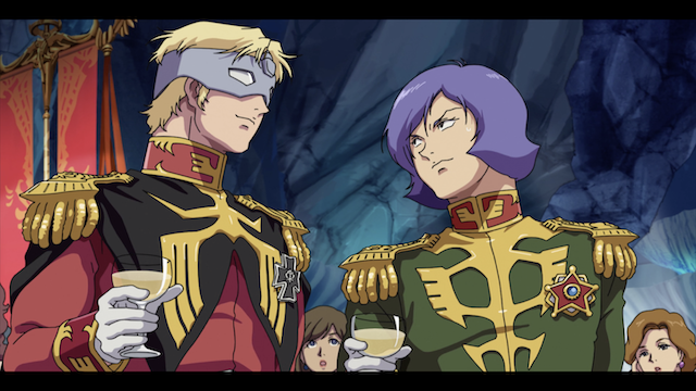 Char Aznable, Garma Zabi, Mobile Suit Gundam Advent of the Red Comet