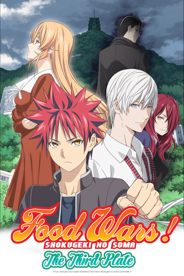Food Wars! Shokugeki no Soma (Dubs)