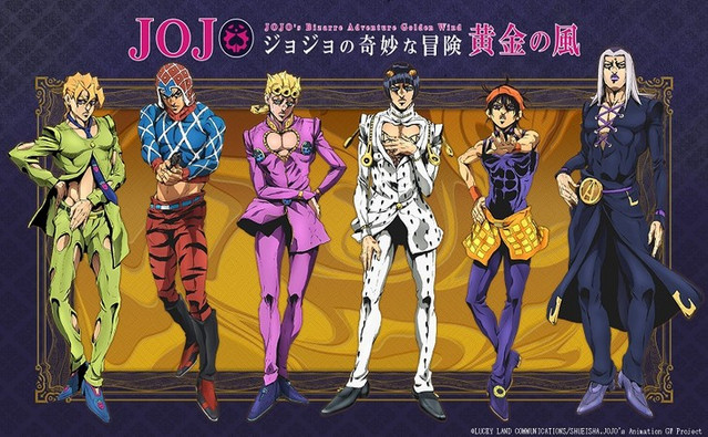 Jojo´s Bizarre Adventure - Vento Aureo Anime Announced