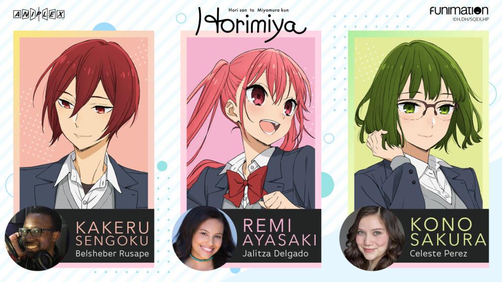 Horimiya Cast 3