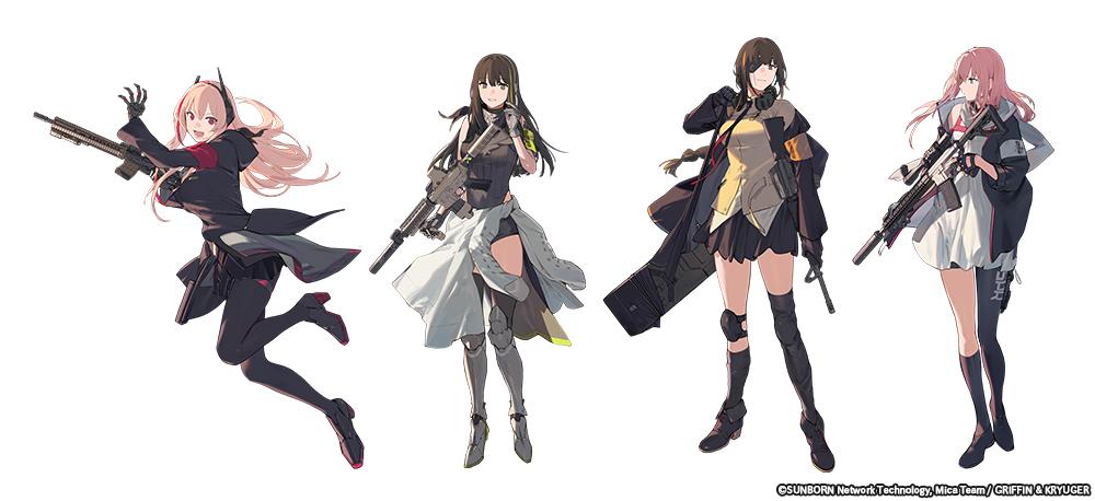 Girls' Frontline anime
