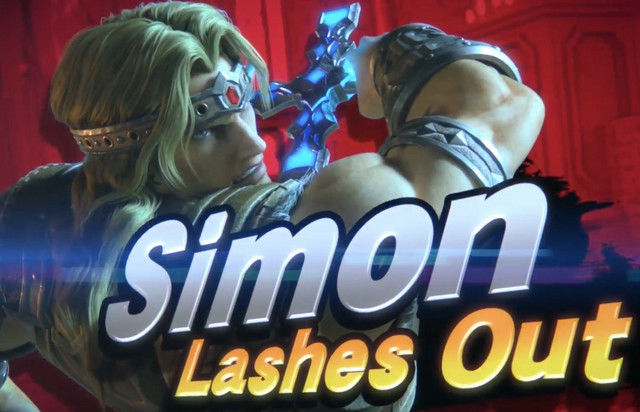 Smash Bros Ultimate Leak Potentially Reveals Simon Belmont as New Fighter