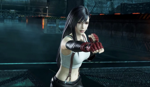 Tifa Lockheart in Dissidia Final Fantasy