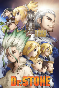 Dr. STONE is a featured show.