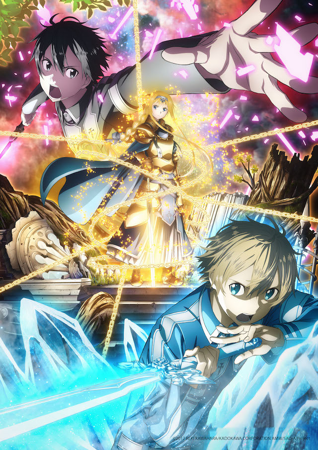 Sword Art Online Alicization key visual