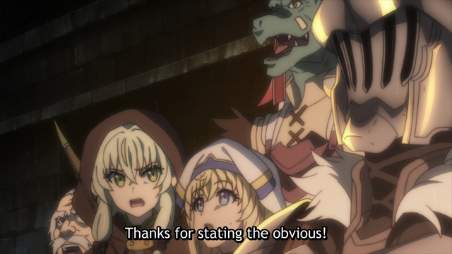 crunchyroll goblin slayer is just like your first d d game