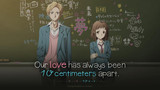 Our love has always been 10 centimeters apart.
