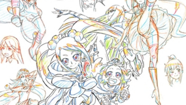 Crunchyroll - PreCure Character Designers Teach How to Draw